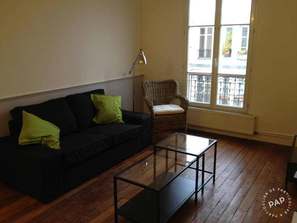 Location meubl e appartement 2 pi ces 43 m paris 17e 43 for Location studio meuble paris