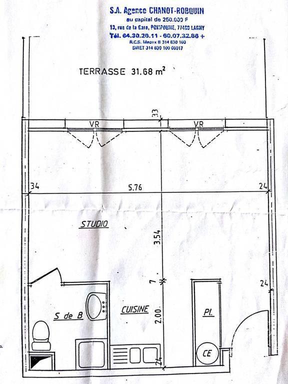 Vente immobilier 151.000€ Lagny-Sur-Marne (77400)