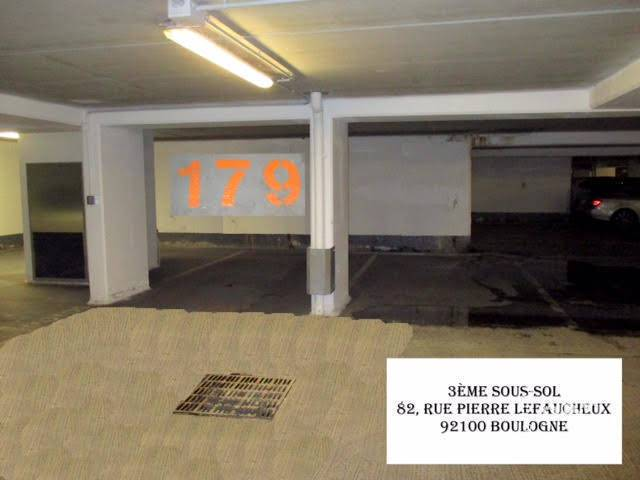 location garage parking boulogne billancourt 92100 100 e de particulier particulier pap. Black Bedroom Furniture Sets. Home Design Ideas