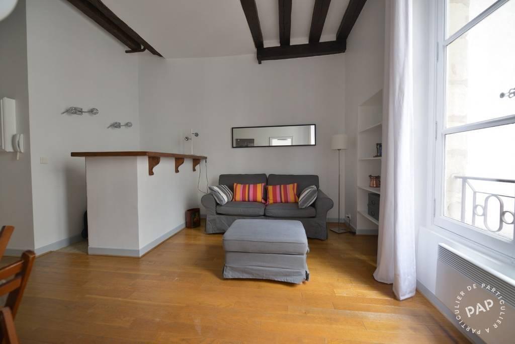 location meubl e appartement 2 pi ces 35 m paris 3e 35 m e de particulier. Black Bedroom Furniture Sets. Home Design Ideas