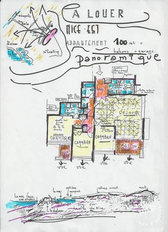 location appartement 4 pi ces 99 m nice 06 99 m de particulier particulier pap. Black Bedroom Furniture Sets. Home Design Ideas