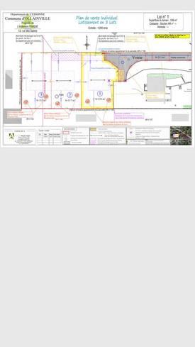 Vente terrain 338m² Ollainville (91340) - 166.000€