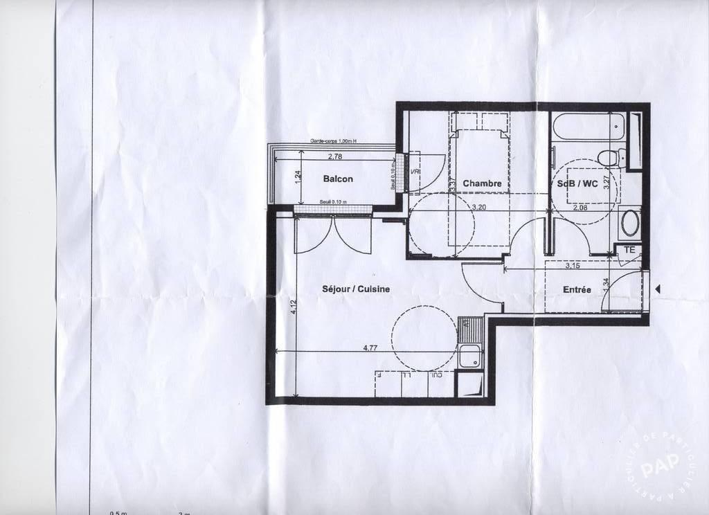 Location Appartement Cachan (94230) 39m² 923€