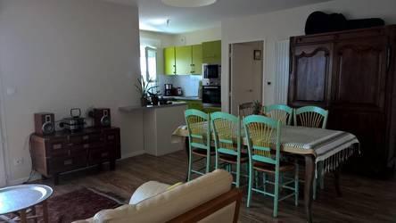 Location meublée appartement 3pièces 65m² Angers (49) - 1.050€