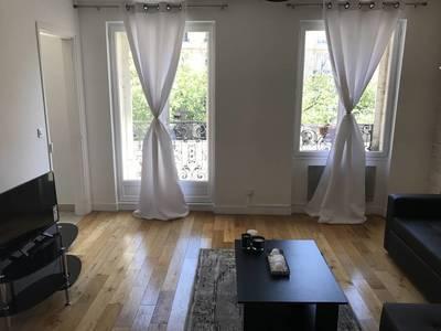 Location meublée appartement 3pièces 62m² Paris 17E - 2.300€