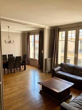 Location meublée appartement 3pièces 54m² Paris 16E - 1.890€