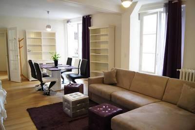 Location meublée appartement 3pièces 54m² Paris 16E - 2.200€