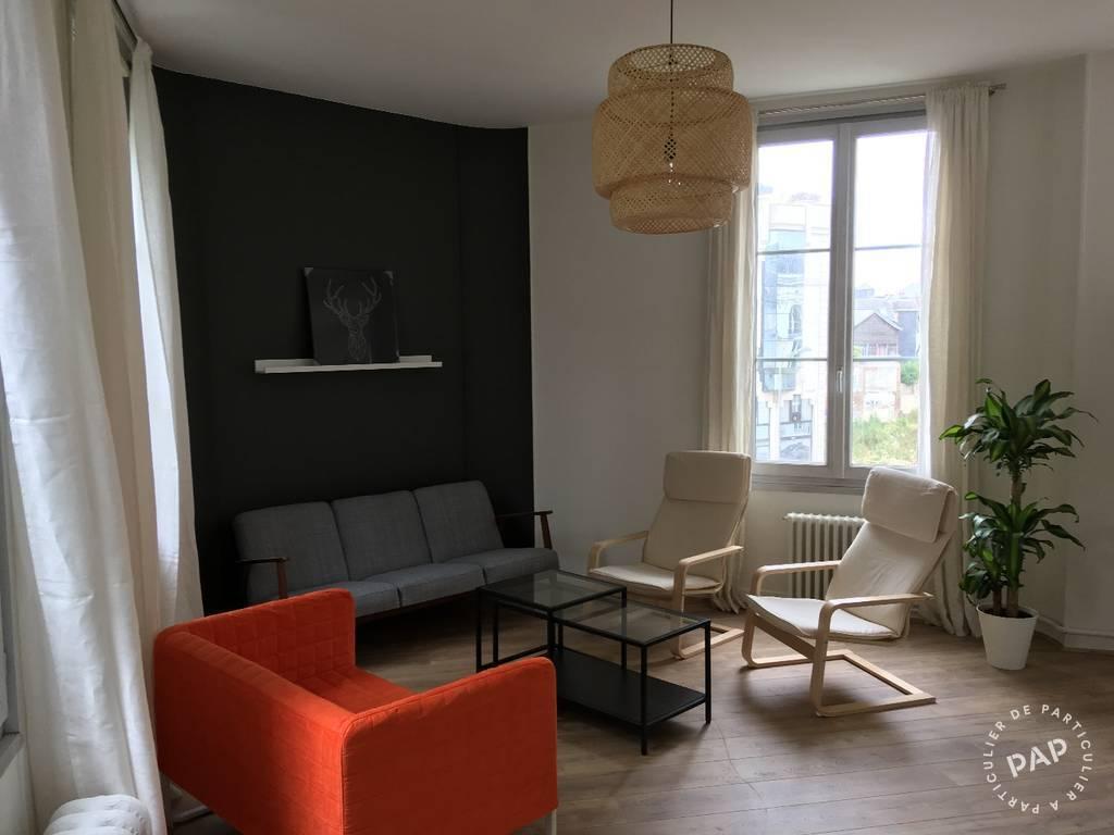 Location meubl e appartement 2 pi ces 15 m rouen 76 for Location meuble rouen