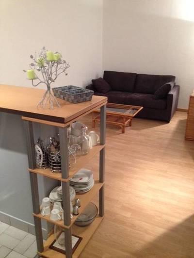 Location meublée studio 21m² Rouen (76) - 505€