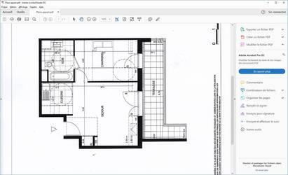 Location appartement 2pièces 39m² Bourg-La-Reine (92340) - 1.100€