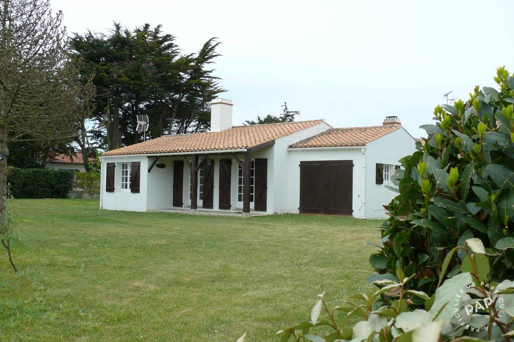 Vente maison noirmoutier en l 39 ile 85330 de for Vente habitation