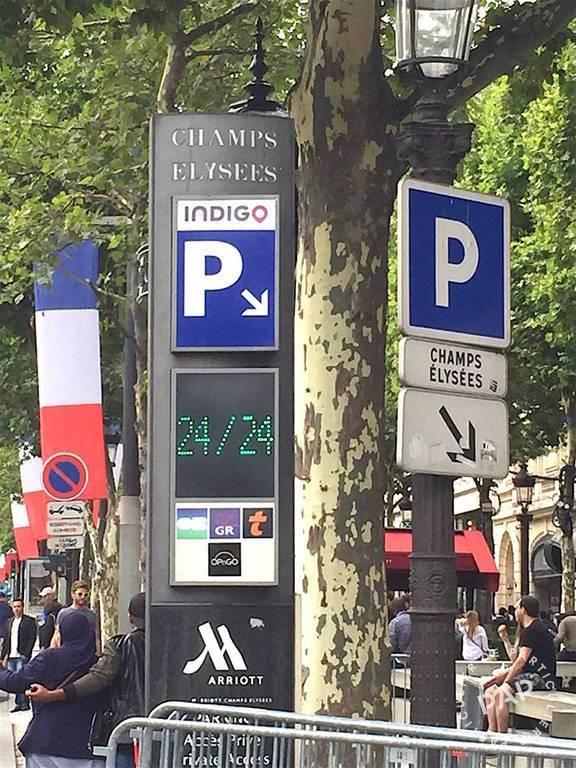 Vente Garage, parking Paris 8E  40.000€