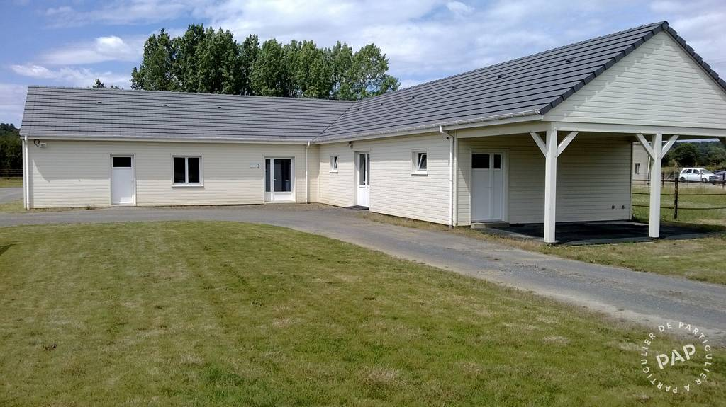 Immobilier Bazouges-Sur-Le-Loir (72200) À 2H De Paris Tgv Direct 430.000€