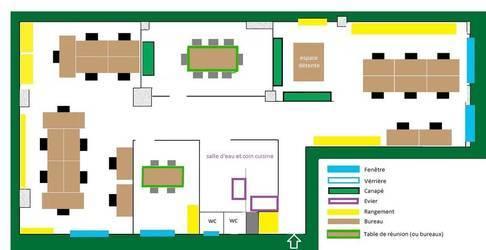 Location bureaux et locaux professionnels 112m² Paris 11E - 2.911€
