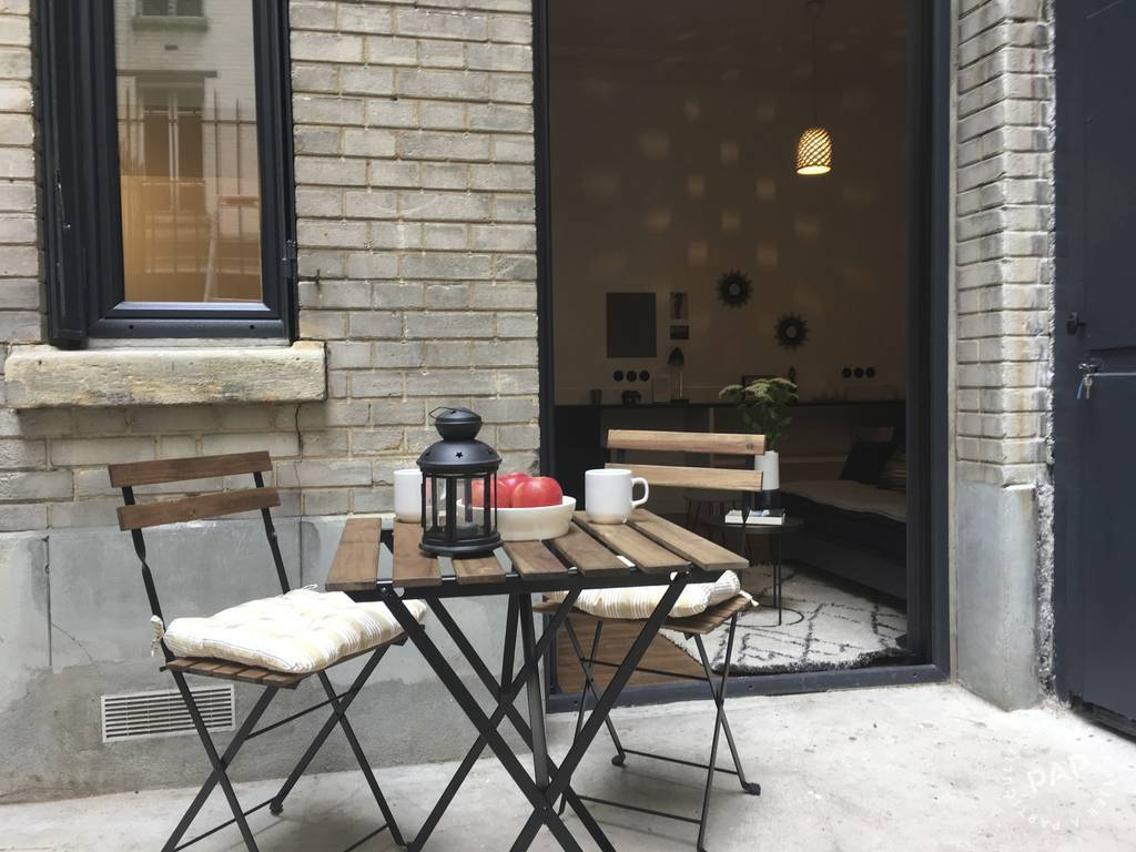 Location Appartement Studio + Cour Privative 24 m² 1.050 €