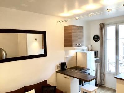 Location meublée appartement 2pièces 27m² Boulogne-Billancourt (92100) - 1.050€