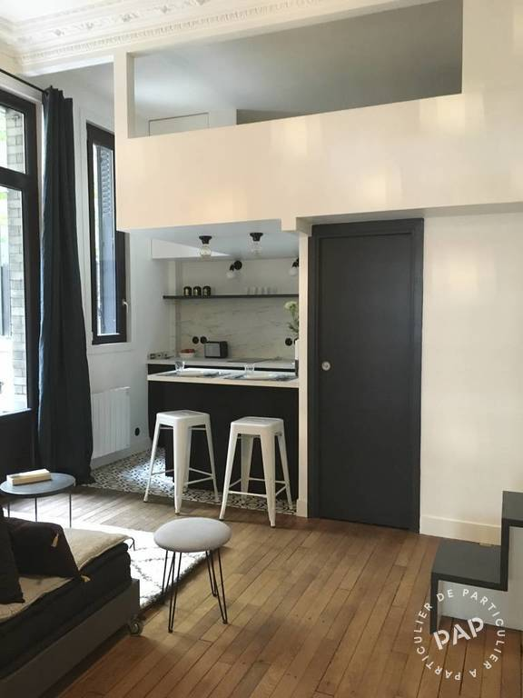 Location Appartement Studio + Cour Privative