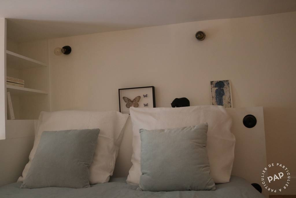 Location Studio + Cour Privative 24 m²