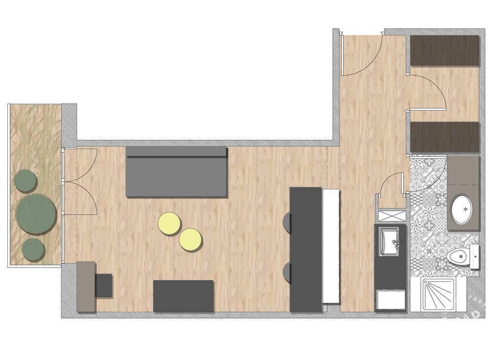 location meubl e studio 31 m marseille 10e 31 m 595 de particulier particulier pap. Black Bedroom Furniture Sets. Home Design Ideas