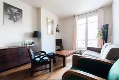 Location Meublée Appartement 2 Pièces 43 M² Paris 19E   1.320 U20ac