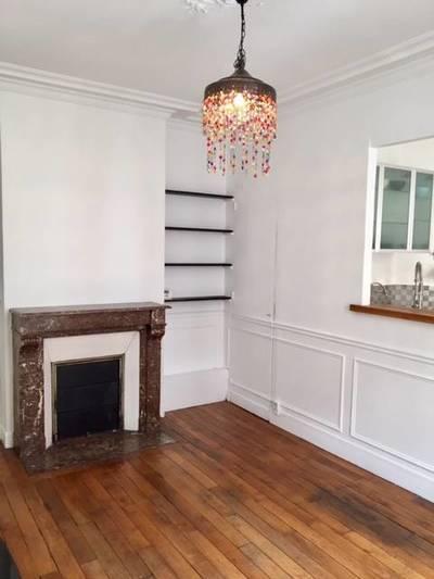 Location meublée appartement 2pièces 41m² Paris 18E - 1.400€