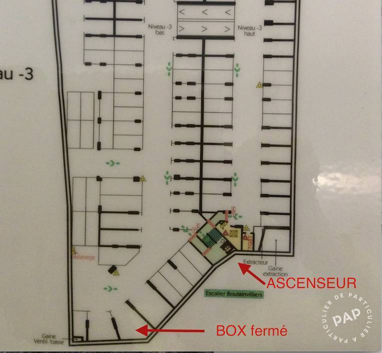 Immobilier Paris 16E 260€ 22m²