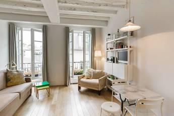 Location meublée studio 25m² Paris 3E - 1.290€
