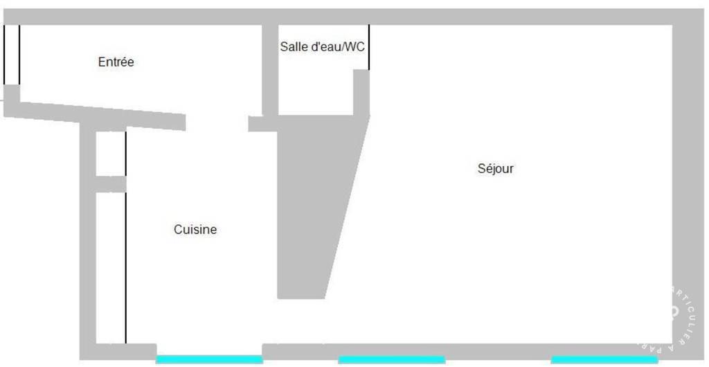 location meubl e appartement 2 pi ces 27 m rouen 76 27 m 466 e de particulier. Black Bedroom Furniture Sets. Home Design Ideas
