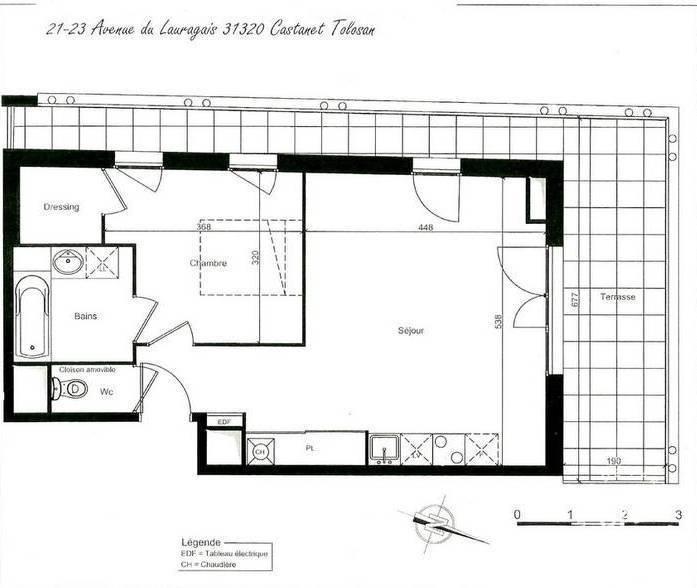 Location appartement 2 pi ces 48 m castanet tolosan for Location garage castanet tolosan