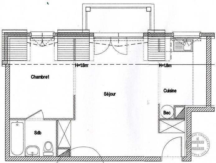 vente appartement 2 pi ces 43 m dammarie les lys 77190. Black Bedroom Furniture Sets. Home Design Ideas