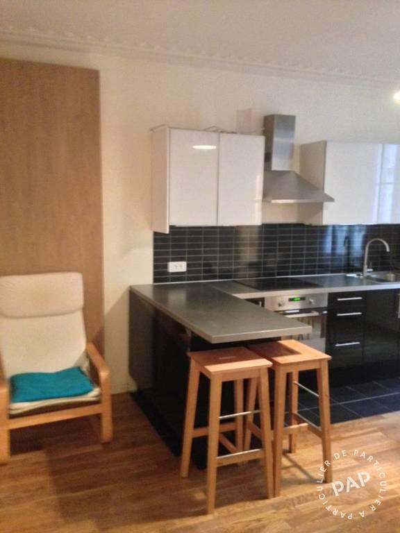 location meubl e appartement 2 pi ces 40 m paris 9e 40 m de particulier. Black Bedroom Furniture Sets. Home Design Ideas