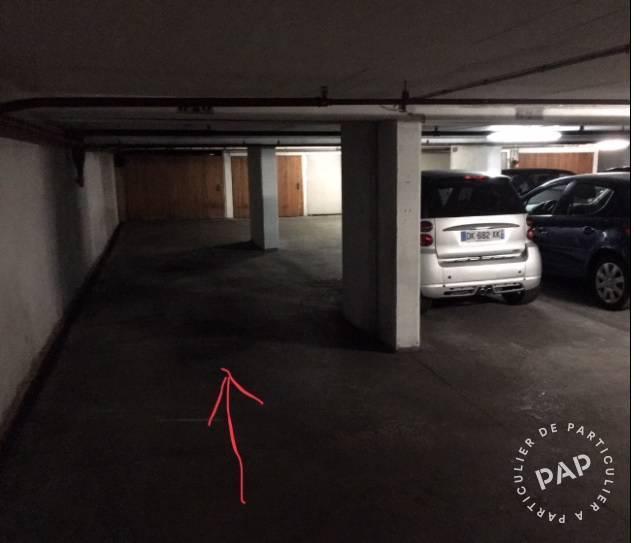 Location garage parking paris 16e 170 e de for Garage paris 16