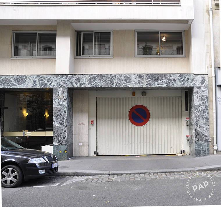 Location garage parking paris 16e 115 de particulier particulier pap - Location garage paris 15 ...