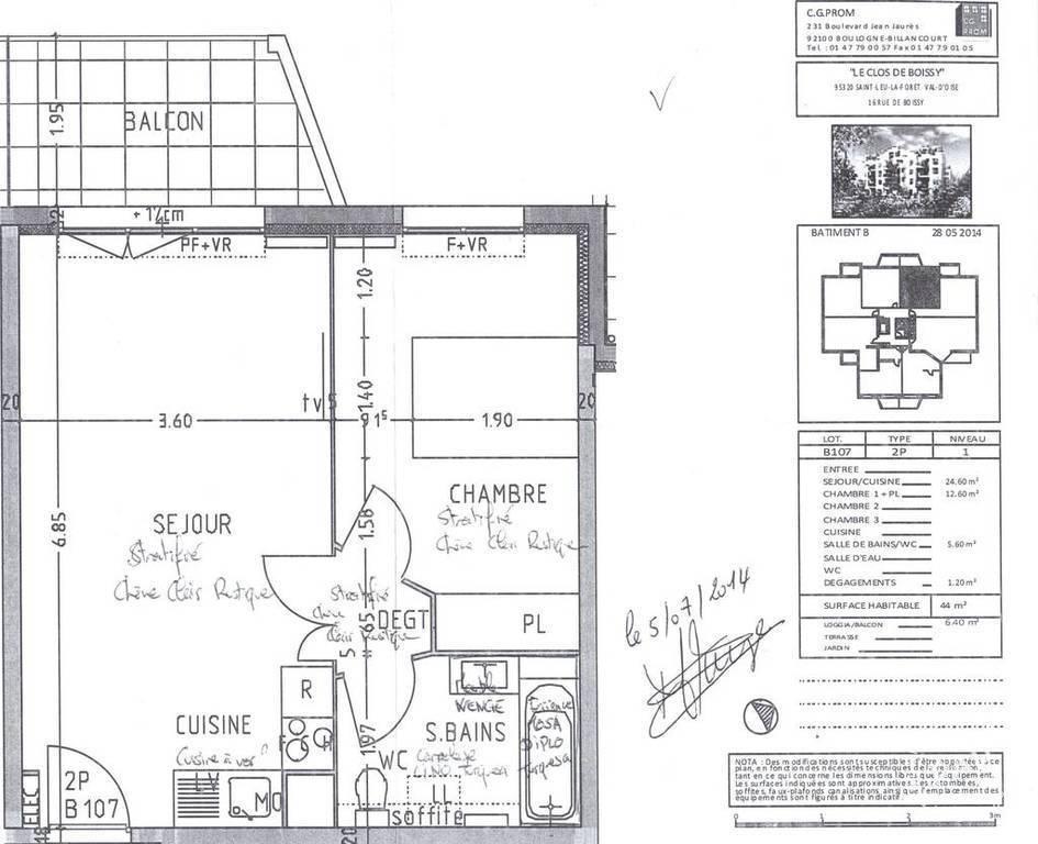 Location Appartement Saint Leu La Foret