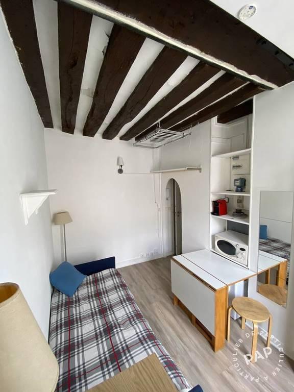 location meubl e studio 13 m paris 4e 13 m 820 e de particulier particulier pap. Black Bedroom Furniture Sets. Home Design Ideas