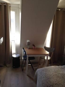Location meublée studio 19m² Paris 16E - 900€
