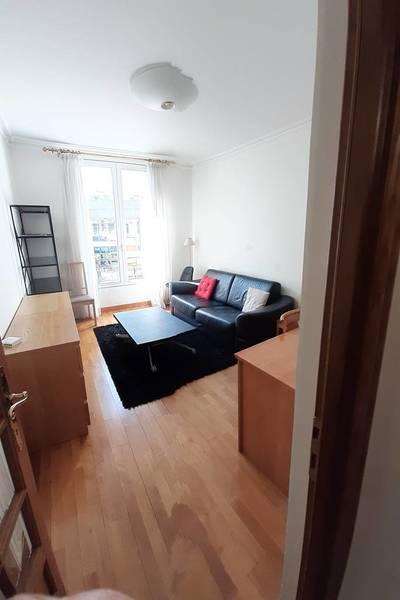 Location meublée appartement 2pièces 44m² Paris 15E - 1.480€