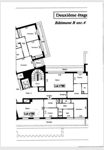 location duplex enghien les bains