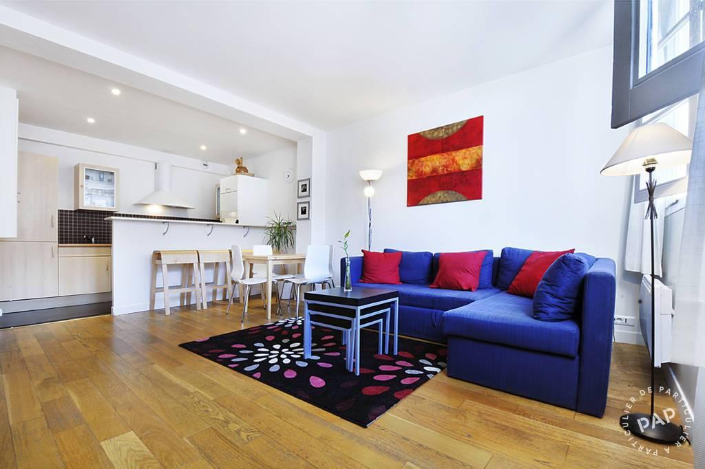 location meubl e appartement 2 pi ces 42 m paris 1er 42 m de particulier. Black Bedroom Furniture Sets. Home Design Ideas