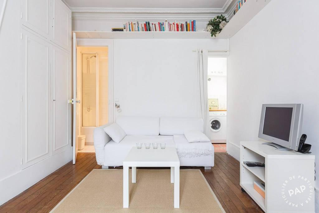 Location meubl e studio 25 m paris 17e 25 m for Location meuble paris 17 particulier