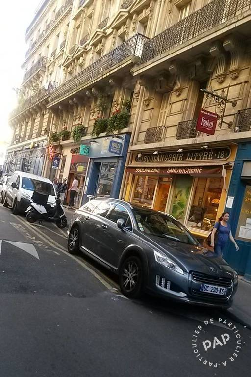 Vente et location Fonds de commerce Paris 6E  37.500 €