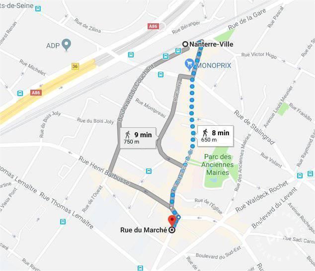 Immobilier Nanterre (92000) 785€ 26m²