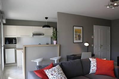 Location meublée appartement 3pièces 63m² Villeurbanne (69100) - 1.305€