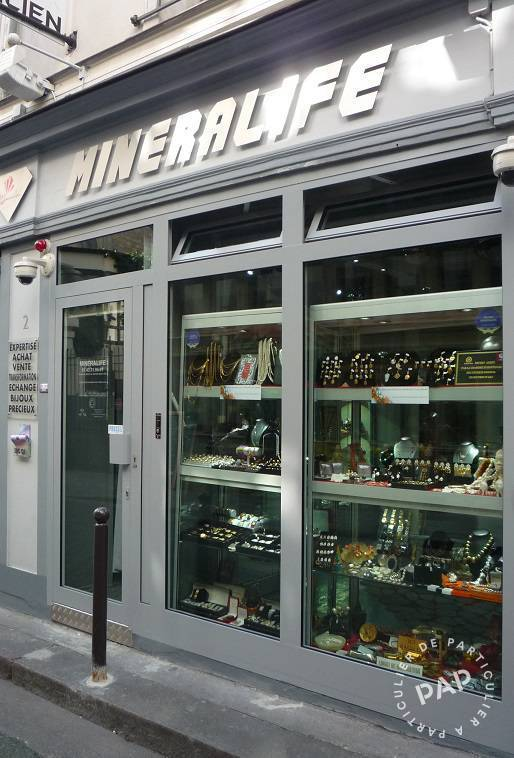 Vente Fonds de commerce Paris 6E 30 m² 75.000 €