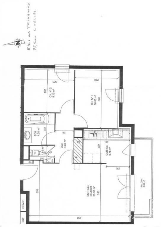 vente viager libre 40 m chelles 77500 40 m e de particulier particulier pap. Black Bedroom Furniture Sets. Home Design Ideas