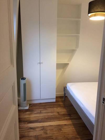 Location meublée appartement 2pièces 30m² Paris 17E - 1.200€