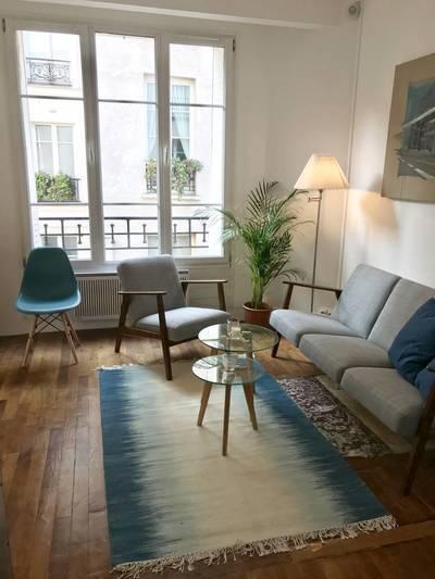 Location meublée appartement 2pièces 37m² Paris 4E - 1.735€