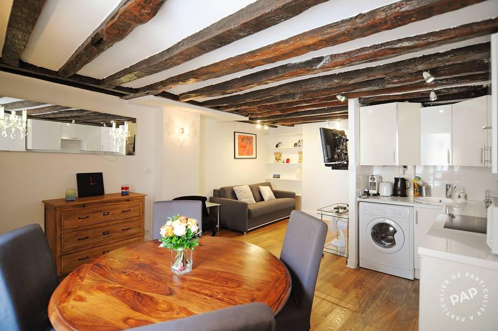 Vente appartement 2 pièces Paris 4e