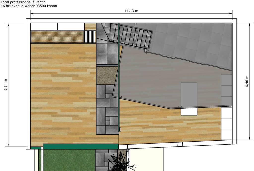 bureaux locaux professionnels pantin 93500 55 m 1. Black Bedroom Furniture Sets. Home Design Ideas