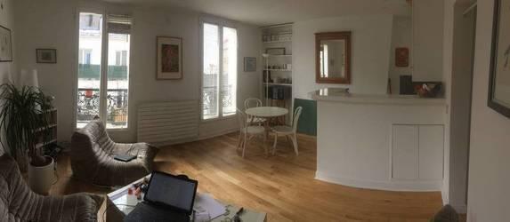 Location meublée appartement 2pièces 40m² Paris 18E - 1.550€
